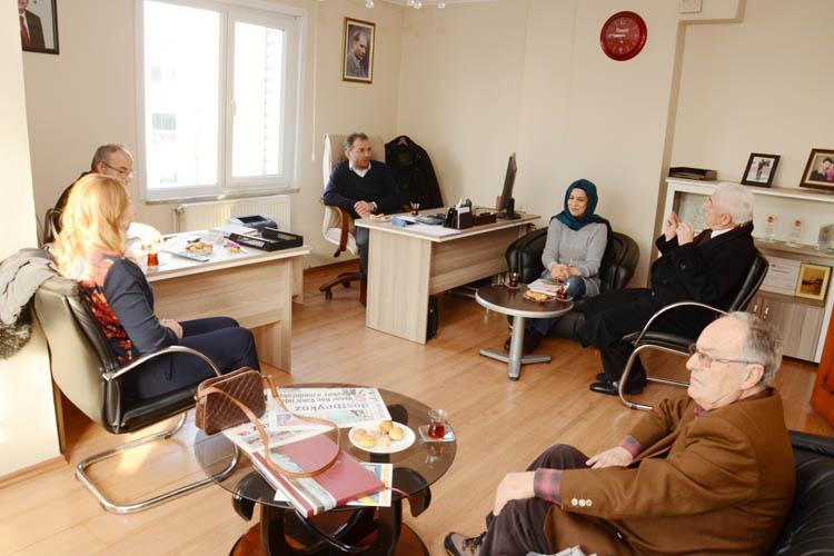 Kent Konseyi, Dost Beykoz'u ziyaret etti