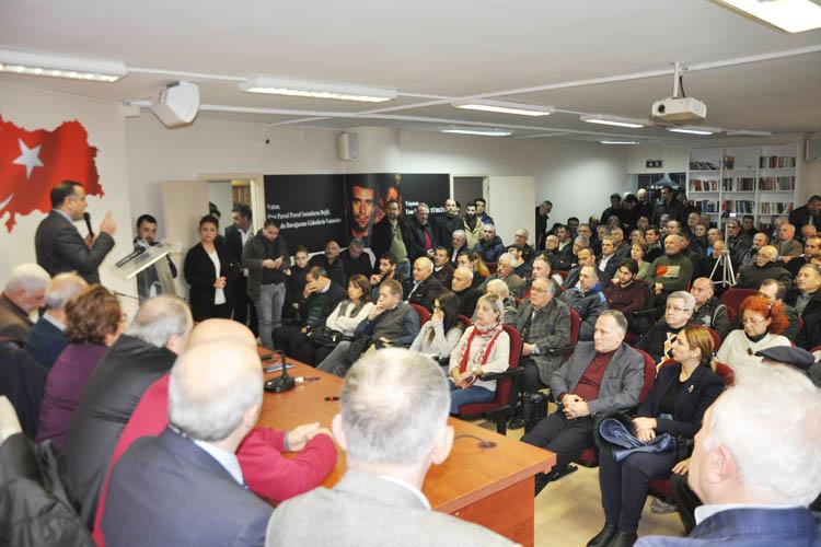 CHP Beykoz'dan Anayasa'ya hayır toplantısı