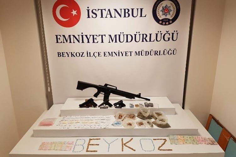 Beykoz İncirköy'de uyuşturucu operasyonu