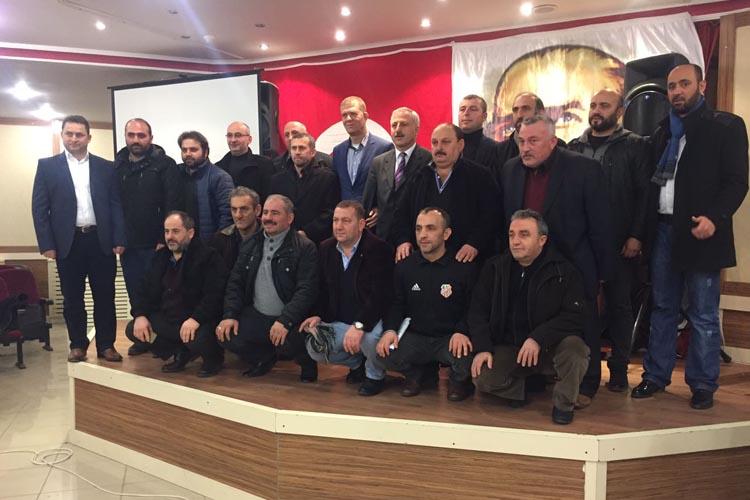 Çavuşbaşıspor'da Başkan yeniden Yaşar Şahin…