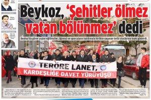 Dost Beykoz Gazetesi 9 ocak 2017... 166. Sayı