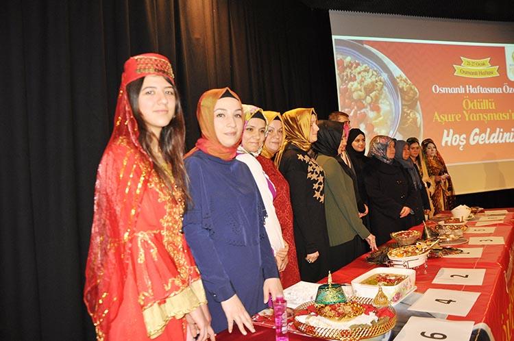 Beykoz, Osmanlı Haftası'nı Aşure ile kutladı