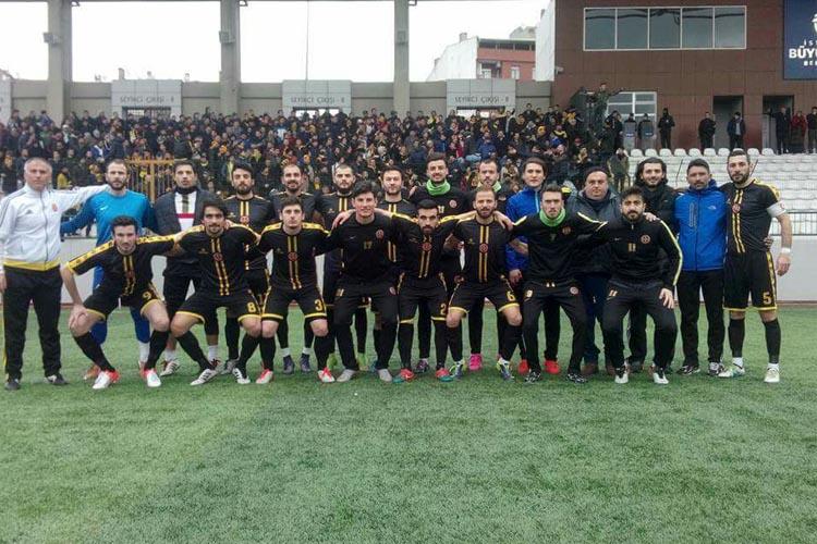 Beykoz 1908 AŞ futbol takımı Play Off'da: 1-0
