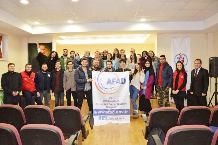Beykoz Üniversitesi Arama kurtarma ekibi kuracak