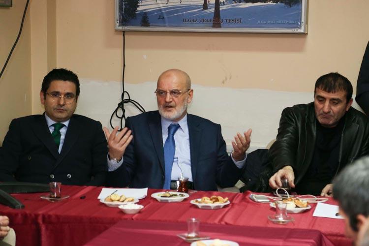 Beykoz Belediye Başkanı'ndan referandum ziyaretleri
