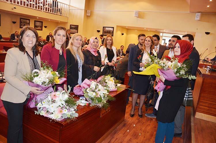 Beykoz Meclisi'nde Kadınlar Günü kutlaması