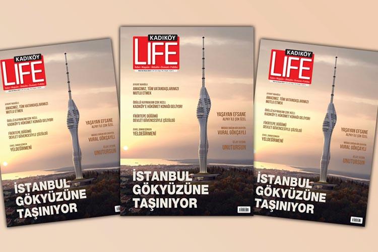 İstanbul'un modern yüzü yükseliyor