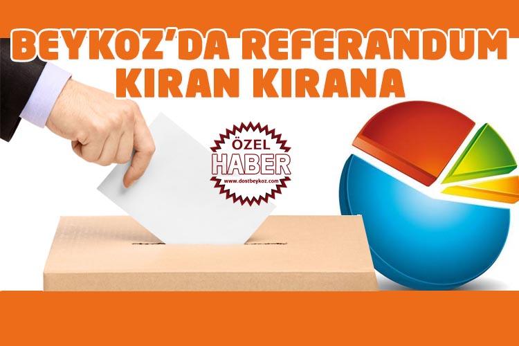 Beykoz'da referandum kıran kırana… İşte anket sonuçları