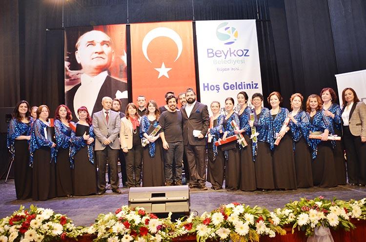 Beykoz'un kadınlarından muhteşem konser