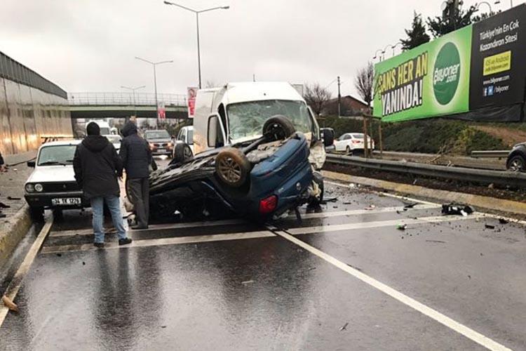 Beykoz Riva yolunda kaza... 1 ölü...