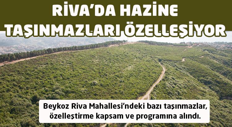 Beykoz Riva'da hazine taşınmazları özelleşiyor