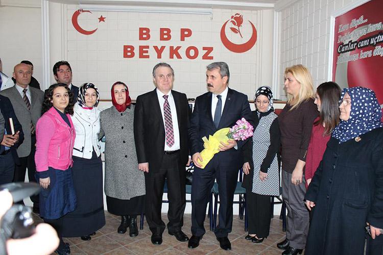 BBP Beykoz İlçe Yönetimi feshedildi…