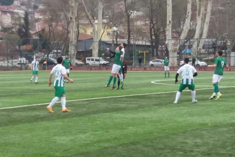 Tokatköyspor zirvede yara aldı: 1 - 2