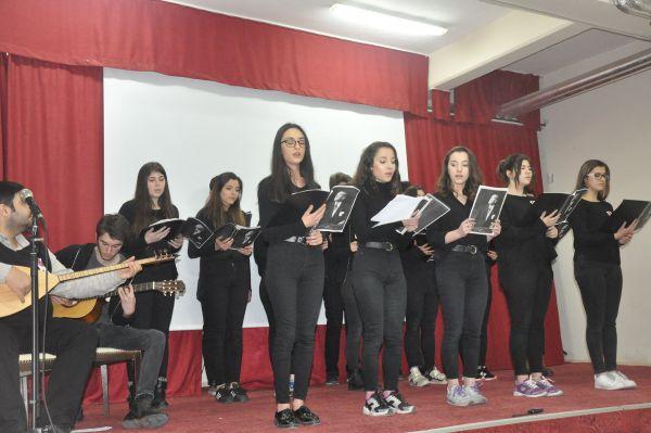 Öğrenciler Beykoz'da 18 Mart'ı andı