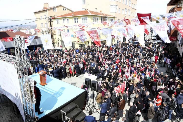 Başbakan Yardımcısı Canikli, Beykoz'da konuştu