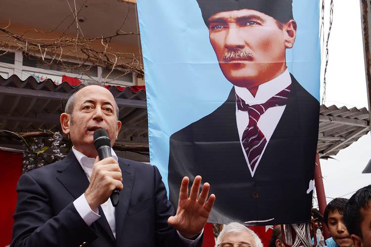 CHP'li Akif Hamzaçebi Beykoz'dan umutlu