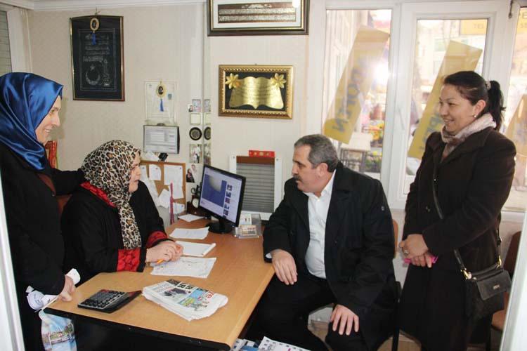 Hanefi Dilmaç Beykoz'u EVET için arşınlıyor