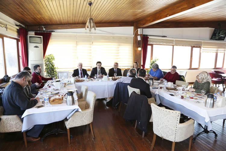 Beykoz Kent Konseyi, yerel basınla buluştu