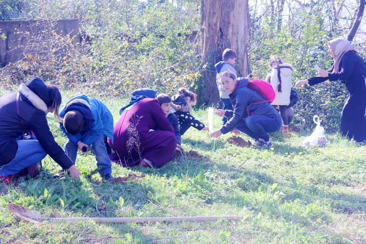 Beykozlu minik öğrencilerin orman sevgisi
