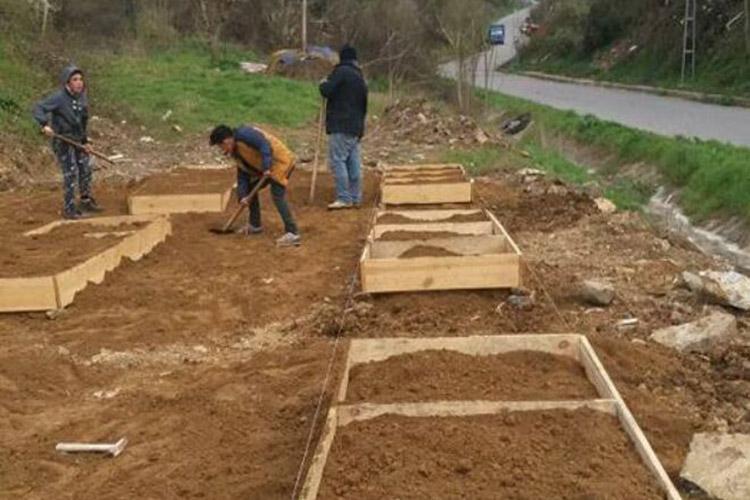 Rüzgarlıbahçespor'dan özel çocuklara hobi bahçesi