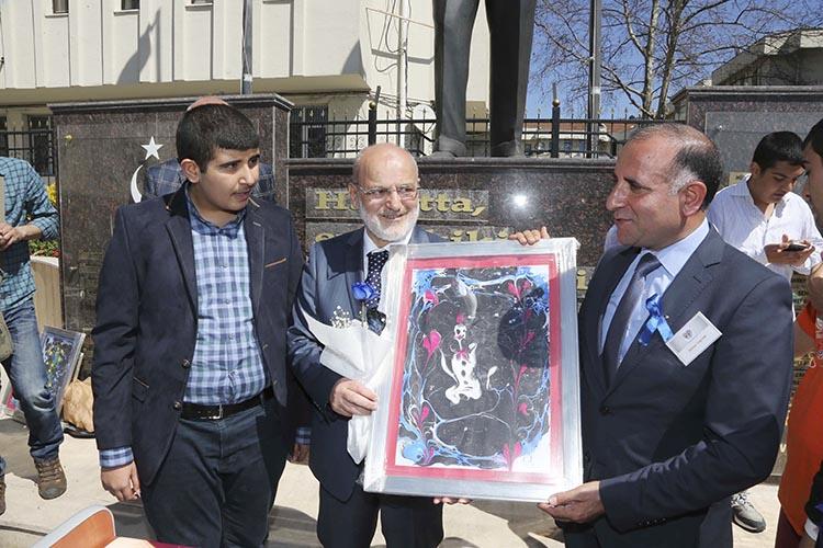 Beykoz'da otizmli çocuklar hayran bıraktı