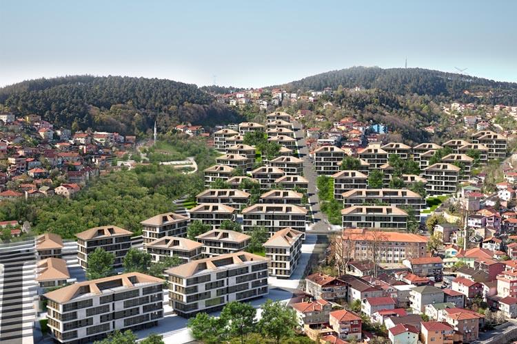 Beykoz Tokatköy Şehr-i Sitare Projesi'nin detayları