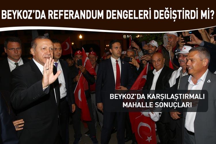 Referandum Beykoz'da dengeleri değiştirdi mi?