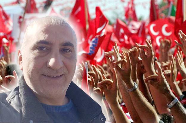 MHP Beykoz İlçe Başkanı yeniden Oğuzhan Karaman oldu