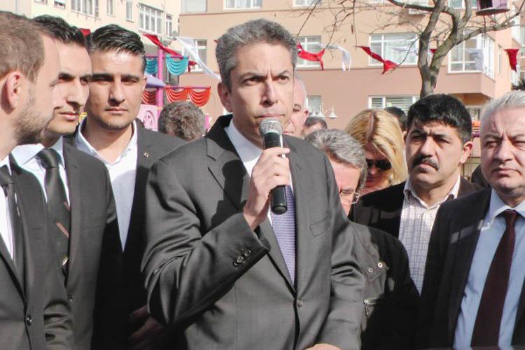 Türkeş'in torunu MHP Beykoz'a tepki gösterdi
