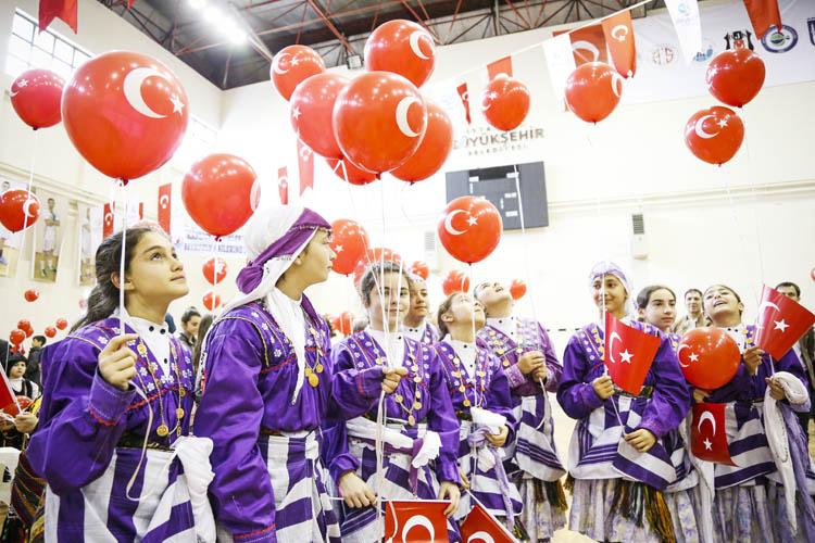 Beykoz'da 23 Nisan Çocuk Bayramı kutlandı