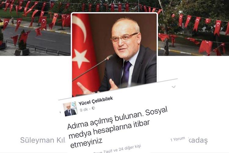 Beykoz Belediye Başkanı'ndan sosyal medya uyarısı