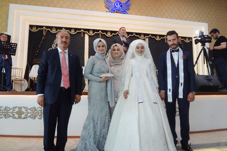 Beykoz'da din adamlarını buluşturan düğün…