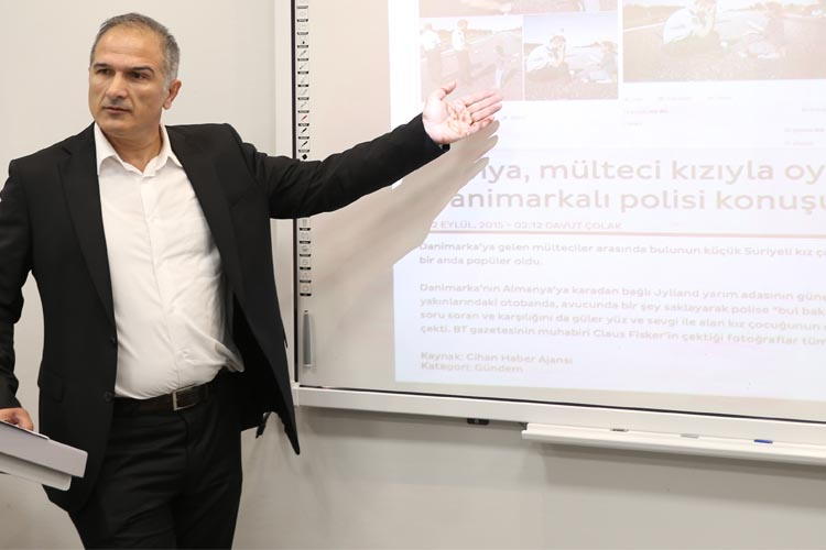 'Sahadan sayfaya habercilik' Beykoz'da anlatıldı