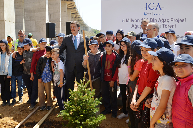 ICA, Beykoz'da yeşile yeşil katıyor