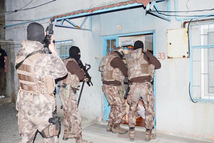 Beykoz'da şafak vakti uyuşturucu operasyonu