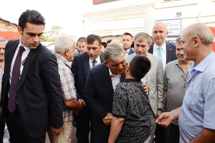 Beykoz, Abdullah Gül ile üzüldü