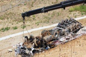 Beykoz Riva'da tır kazası... 1 kişi öldü