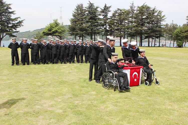 Beykoz'da temsili askerlik eğitimi yapıldı