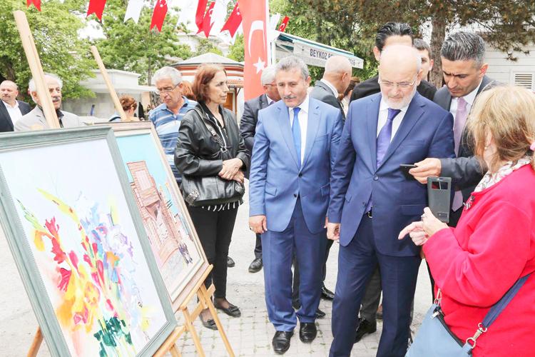 Beykoz'da Halk Eğitim mezunları hünerlerini sergiledi