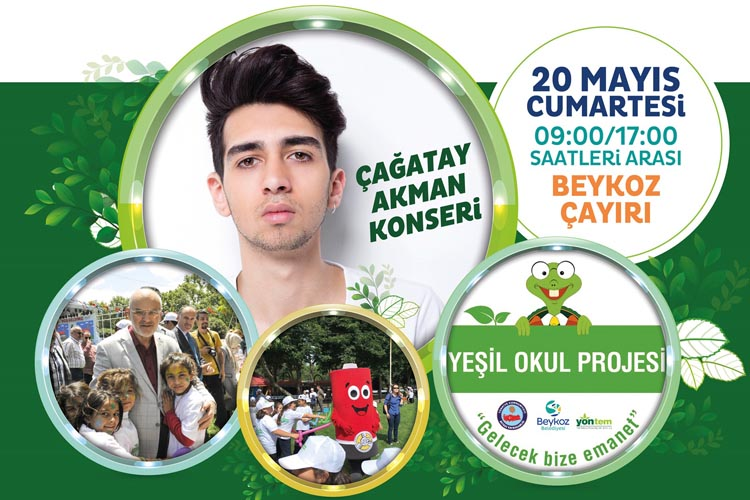 Tarihi Beykoz Çayırı'nda Yeşil Okul Şenliği