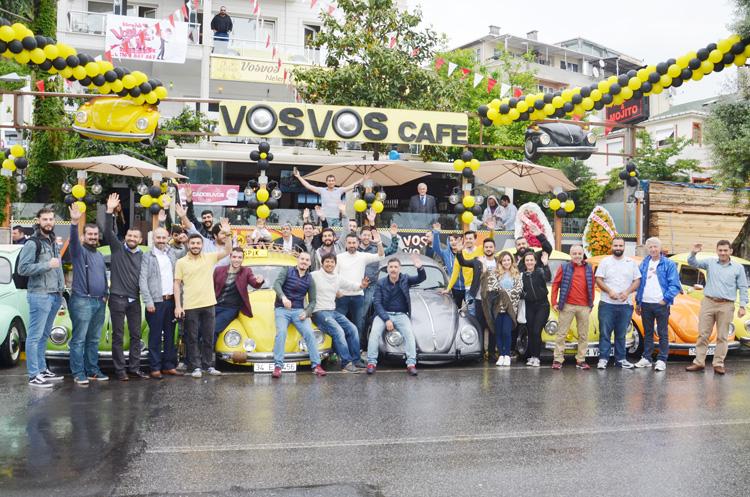 Beykoz'un Vosvos kafesi hizmete başladı