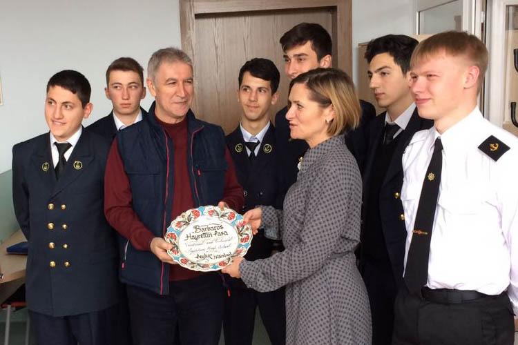 Beykoz Barbaros Hayrettin Paşa, Litvanya'dan döndü