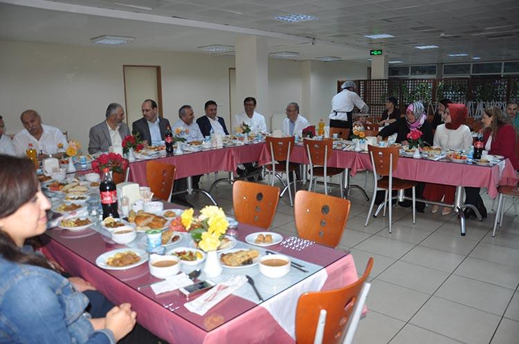 Beykoz'da sağlık çalışanlarının iftar buluşması