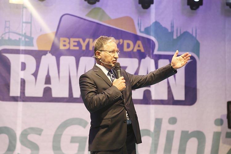 Mustafa Karataş Beykoz'da hasbi hal etti