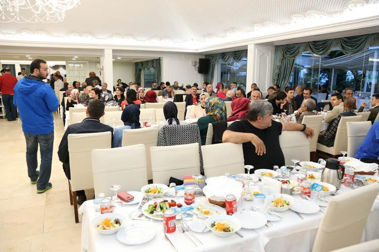 Çelikbilek'ten Beykoz teşkilatına iftar