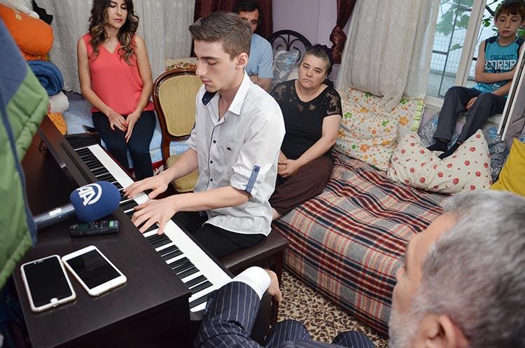 Beykoz'un Mozart'ı yetenek sınavlarına girecek