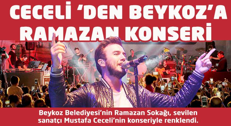 Mustafa Ceceli'den Beykoz'a Ramazan konseri