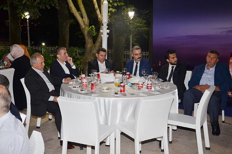 AK Parti Beykoz, iş dünyası ve bürokratları ağırladı