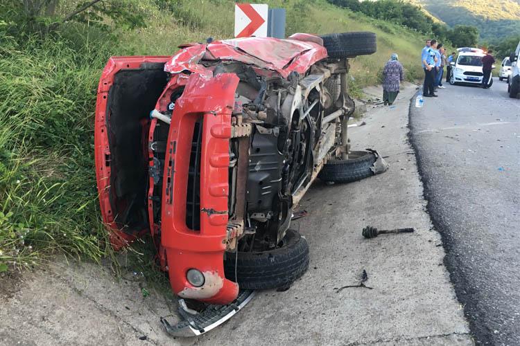 Beykoz Riva'da feci kaza: 5 yaralı