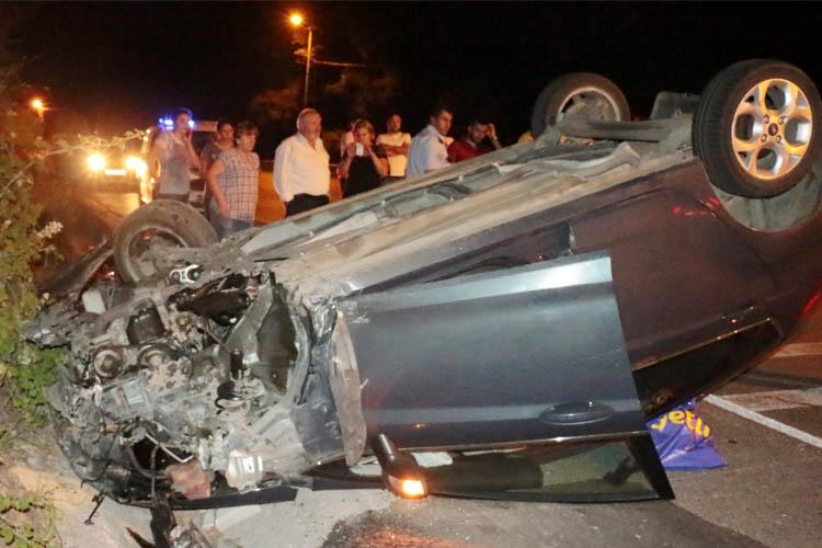 Beykoz Çavuşbaşı'nda trafik faciası: 5 yaralı